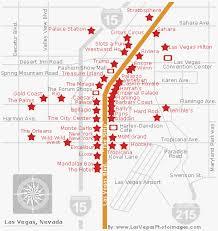 map of las vegas strip