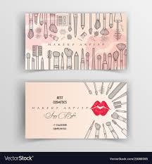 makeup artist business cards domaregroup