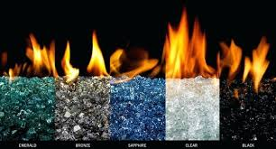 glass vs lava rock fire pit
