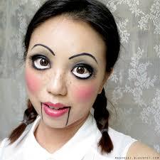 creepy doll halloween makeup tutorials