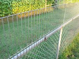 Chain Link Fence Height Extension Fence Height Extension Dog Proof Fence Chain Link Fence