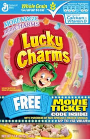 lucky charms inside the label fooducate