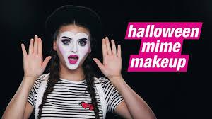 mime makeup halloween how to makeup