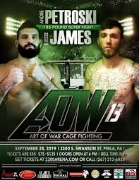 Aaron Nobles vs. Derrick Bradley, Art of War Cage Fighting 13 | MMA Bout |  Tapology