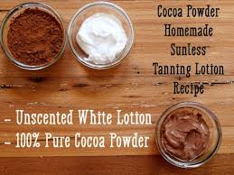 homemade self tanning lotion
