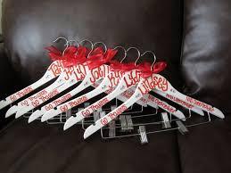 diy cheer uniform hangers cheer team