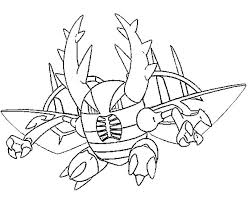Kleurplaat Pokemon Mega Evolutie Mega Pinsir 127 127
