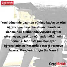 ÜniRefah Genel Merkez's tweet -
