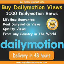 Buy Dailymotion Views 1000 - Buy Online contest vote | Contest ...