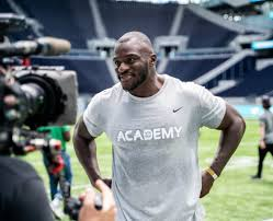 London calling: Efe Obada talks overseas NFL Academy, putting on pounds and  new role in Panthers' 3-4 – The Athletic