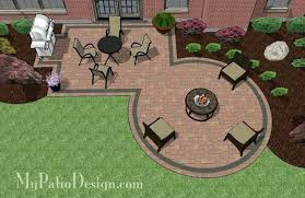 firepit and patio designs