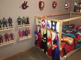 Superhero Toddler Boy Bedroom Batman Superman Flash Spider Man Hulk Thor Captain America Iron Man Marvel A Boy Toddler Bedroom Marvel Bedroom Toddler Boys Room