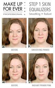 makeup forever green primer before