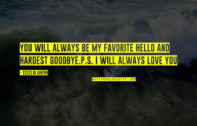 i will always love you goodbye quotes top famous quotes about