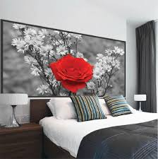 Rose Wall Mural Decal Beautiful Wall Decal Murals Primedecals