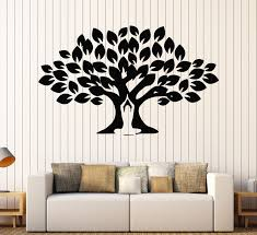 Vinyl Wall Decal Yoga Meditation Center Tree Buddhism Stickers Mural Unique Gift 094ig Vinyl Wall Decals Wall Decals Yoga Studio Decor