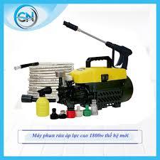 Máy rửa xe mini Sakura 1800W tạo áp lực cao hộ gia đình 220V công suất cao mô  tơ từ sug bơm nước tự động làm sạch