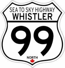 Whistler Sea To Sky Highway 99 Canada Vinyl Decal Sticker Ebay