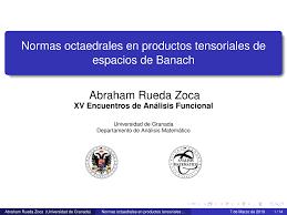 Normas octaedrales en productos tensoriales de espacios de Banach