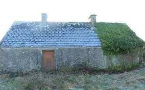 an old stone cottage on the galway