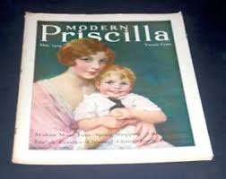 MODERN PRISCILLA MAY 1929 WOMAN & SON | eBay