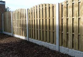 Hit Miss Wind Proof Fence Panels 6ft X 5ft High Arch Top Amazon Co Uk Garden Outdoors
