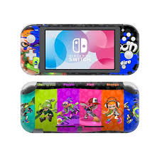 Splatoon 2 Skin Sticker Decal For Nintendo Switch Lite Console Controller Protector Joy Con Switch Lite Skin Sticker Consoleskins Co