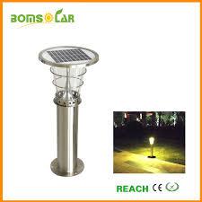 stainless steel outdoor solar lights