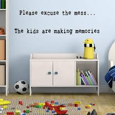 Harriet Bee Bessemer Please Excuse The Mess Kids Playroom Quotes Wall Decal Reviews Wayfair