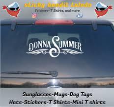 Donna Summer 9 Inch Window Vinyl Decal Sticker Ebay