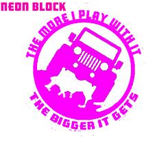 Custom Jeep Window Decal Sticker The More I Play With It The Bigger It Gets Outdoor Decal Wrangler Xj Tj Rubicon Cherokee Sticker Sold By Big Tees Printing On Storenvy