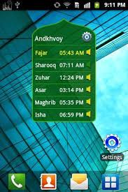 Prayer Time & Qibla (Widget) for Android - APK Download