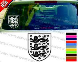 England National Soccer Football Team Logo Cool Decal Car Window Sticker Ebay