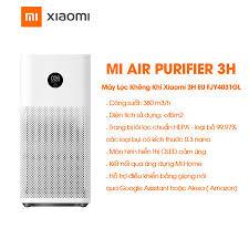 Máy lọc không khí, khử mùi, diệt khuẩn - Xiaomi Air Purifier 3H ...