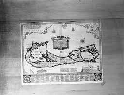 Maps of Naval Bases Acquired From Britain, William Clemens Library,  September 1940 | Ann Arbor District Library