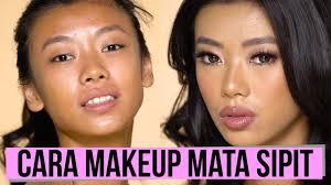 tutorial makeup make over mata sipit