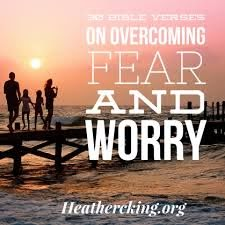 Bible Verses on Overcoming Fear and Worry – Heather C. King – Room ...