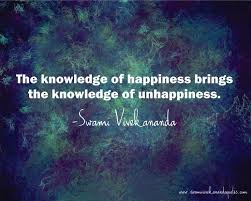 swami vivekananda quote the knowledge of happiness brings the