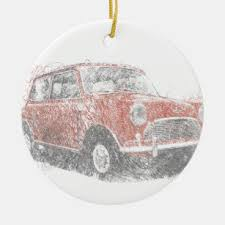 mini cooper christmas tree decorations