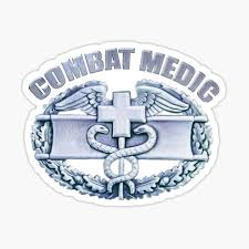 Combat Medic Stickers Redbubble