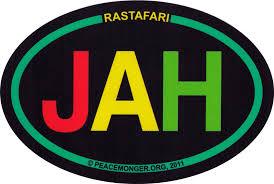 Rastafari Jah Small Bumper Sticker Decal Peace Resource Project