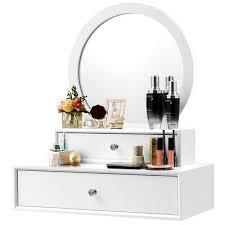 dressing table vanity floating