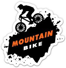 Amazon Com Gt Graphics Express Mountain Bike Mtb 5 Vinyl Sticker For Car Laptop I Pad Waterproof Decal Home Kitchen