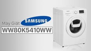 Máy giặt Samsung 8 kg WW80K5410WW/SV - dòng máy giặt AddWash của ...