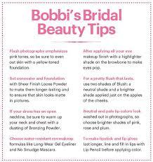 makeup artist bobbi brown s bridal