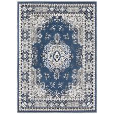lilly oriental midnight blue area rug