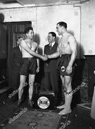Italian heavyweight boxer Primo Carnera right shakes Editorial Stock Photo  - Stock Image | Shutterstock