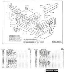 1998 club car parts diagram wiring