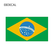 Ebdecal Creative Brazil Flag For Auto Car Bumper Window Wall Decal Sticker Decals Diy Decor Ct11584 Car Stickers Aliexpress
