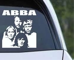 Abba 02 Die Cut Vinyl Decal Sticker Decals City